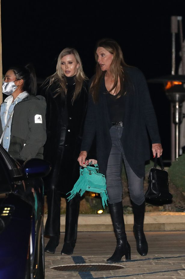 Caitlyn Jenner and Sophia Hutchins re-spark romance rumours with cosy dinner
