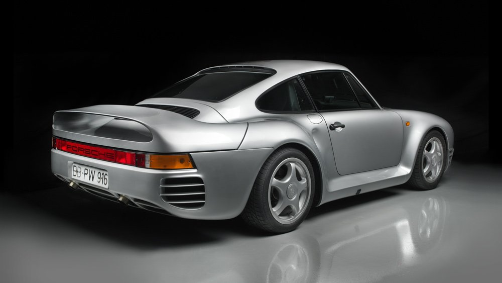 The Brumos Collection's Porsche 959 prototype.