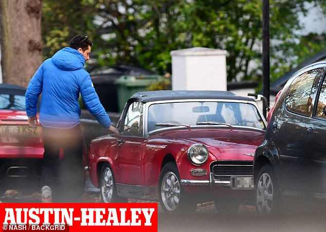 Shocking:Back in July 2020 it was reported that his 1950s era Austin Healy car, which retails around £65,000, had been stolen