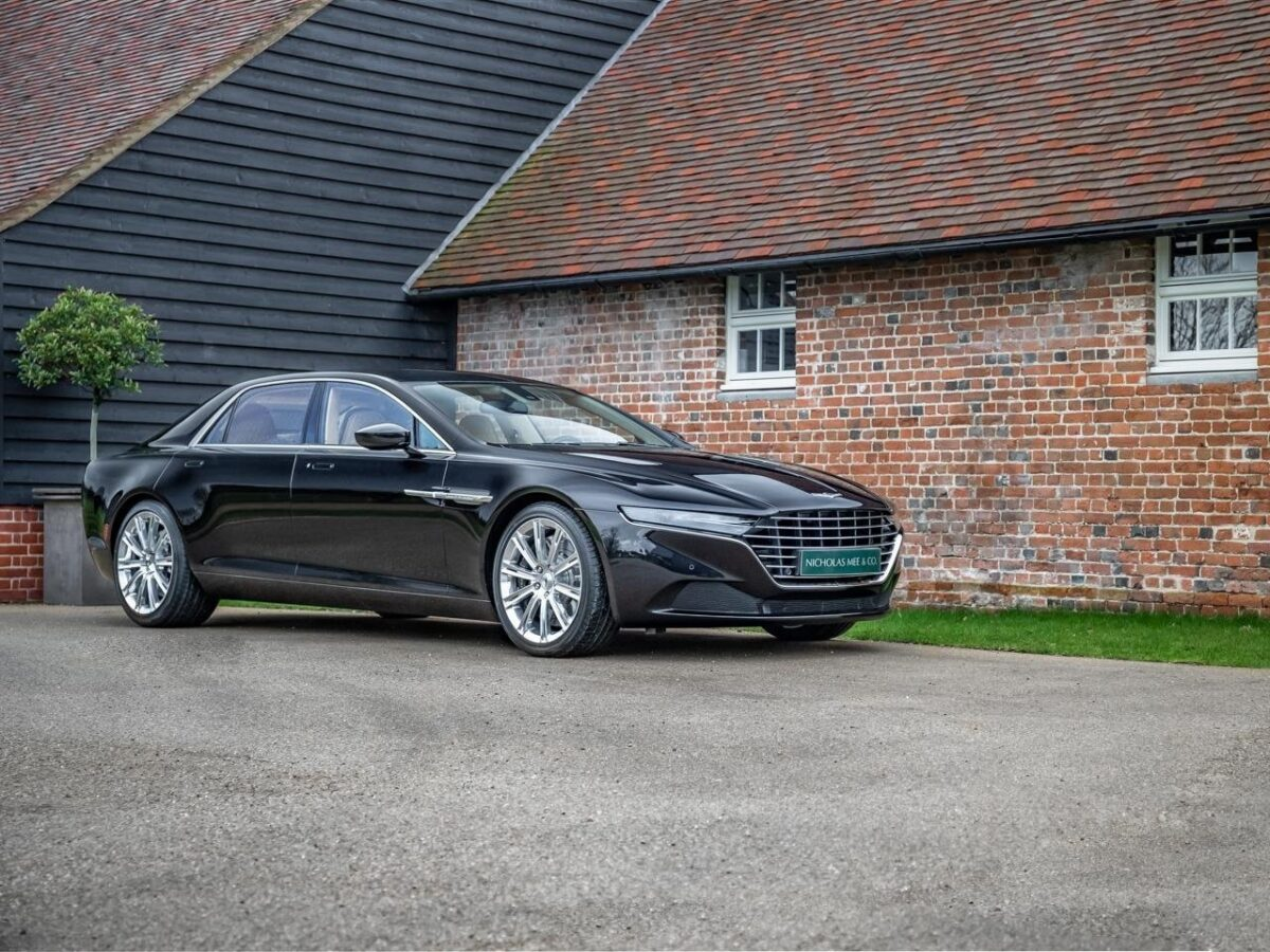 This Lagonda Taraf is currently up for grabs in Hertfordshire, England, and you may like to know that 'Taraf' is Arabic for 'opulence', 'wealth', and 'luxury'.
