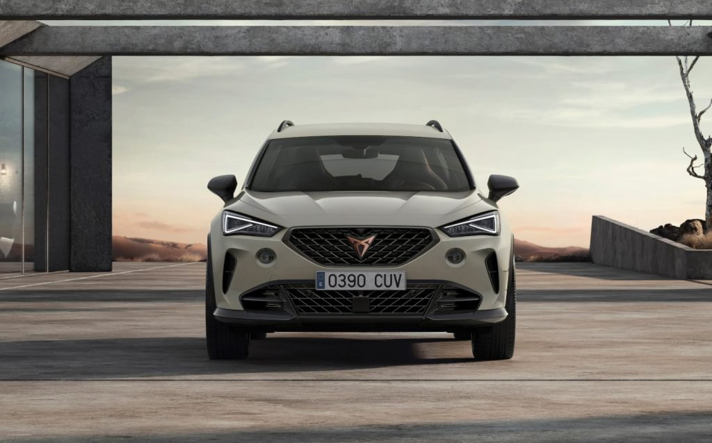 Cupra Formentor VZ5 hot crossover will be sold in UK