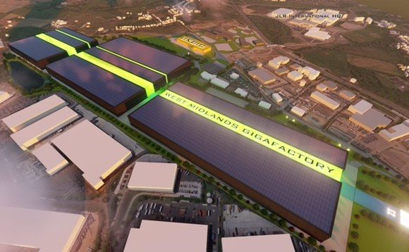 Artist's impression of the proposed Coventry gigafactory | Credit: Coventry City Council and the West Midlands partnership