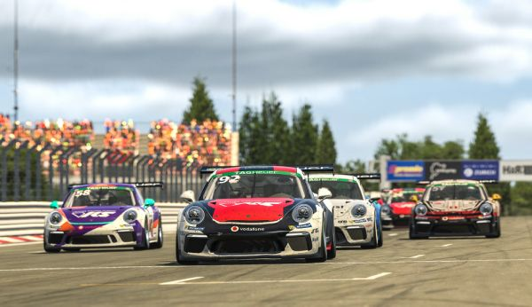 Sebastian Job loses valuable points in the Porsche TAG Heuer Esports title fight against Joshua Rogers