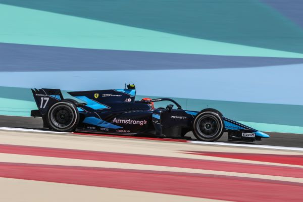 DAMS begins 2021 FIA F2 season with Feature race points in Bahrain