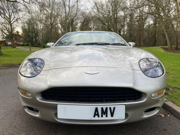 Northwich Guardian: Roy Keane's former Aston Martin DB7 was bought to mark Manchester Utd's historical treble in 1999.