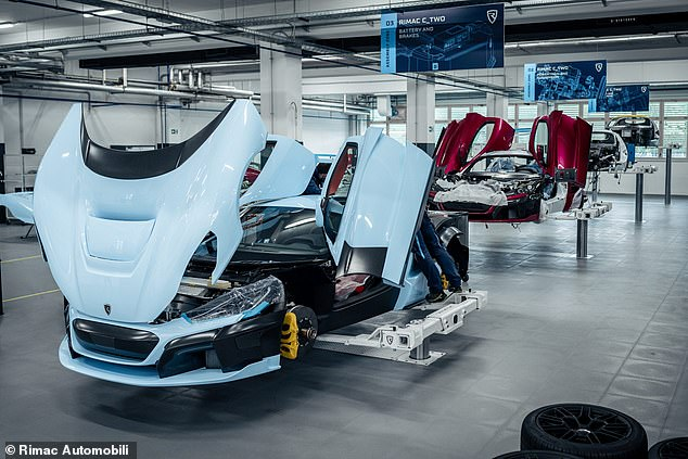 The Croatian EV specialist is alsoa supplier to many of the world's largest car makers, including Hyundai, Porsche, Automobili Pininfarina, Koenigsegg and others