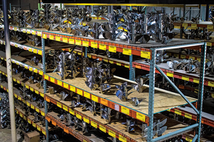 PowerTech keeps a large inventory of props.