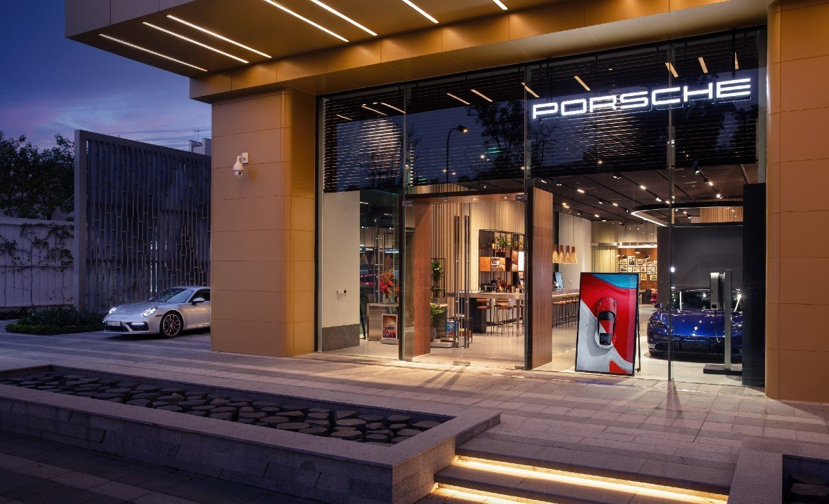 Porsche Studio in Hanoi. Photo courtesy of Porsche.