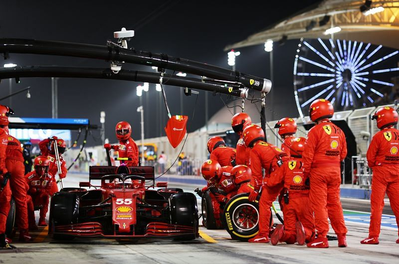 Ferrari has made a significant step forward in performance. Photo: Mark Thomson/Getty Images.