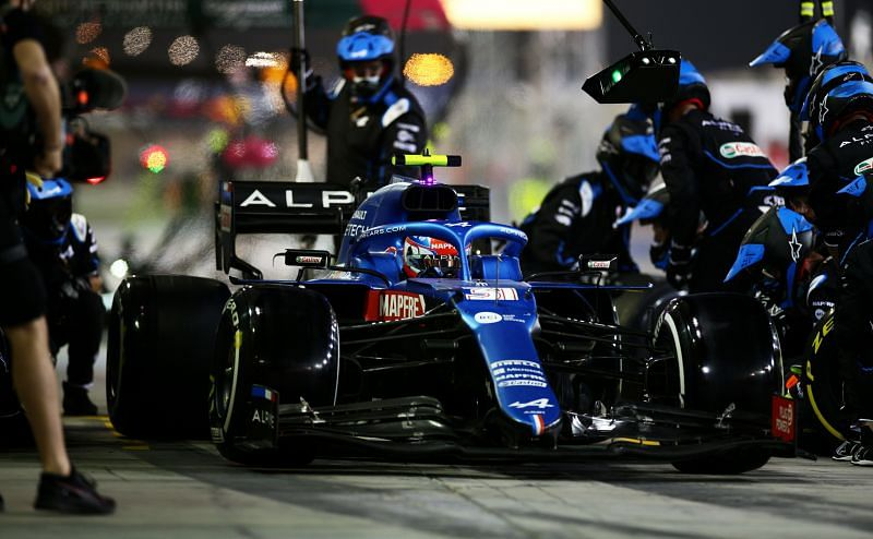 Alpine had an embarrassing first race of the season. Photo: Peter Fox/Getty Images.
