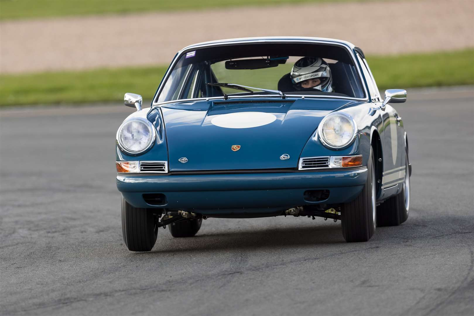 THE pre-66 Porsche 911 in testing last week at Donington Park. Credit: Rob Overy