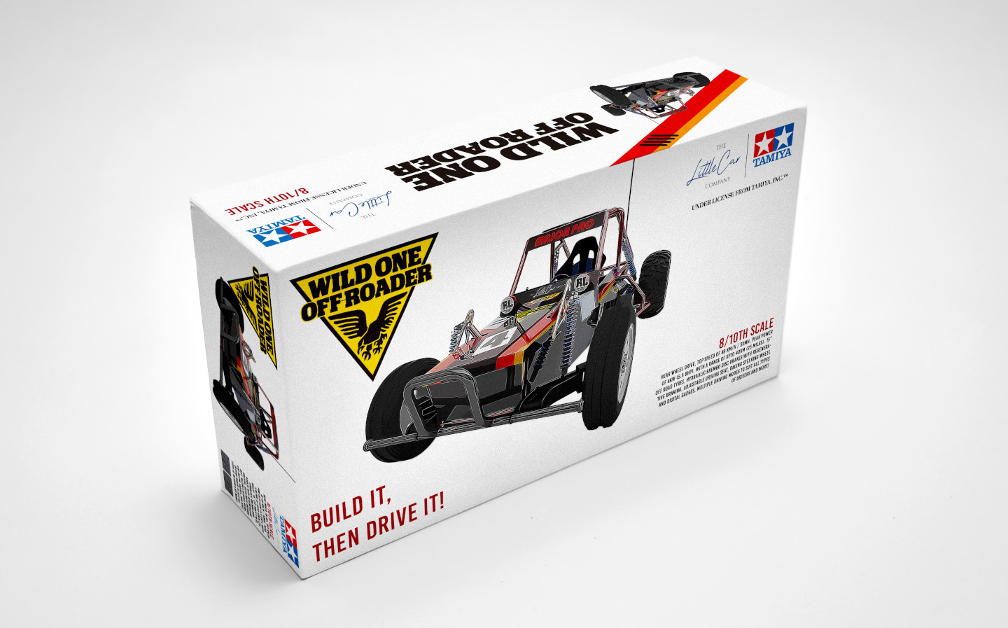 Remote controlled car company Tamiya reveals driveable Wild One model