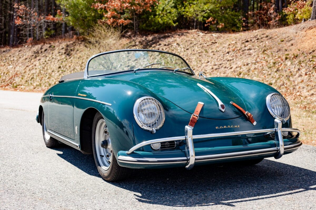 Few other Porsches are as famous as the 356A Speedster, and this open-top ride made in 1957 is now heading to an auction after a major restoration.