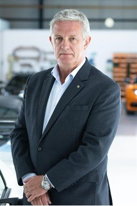Geoff Dowding global sales and aftersales director Lotus