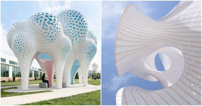Lightweight Structures By Marc Fornes - THEVERYMANY