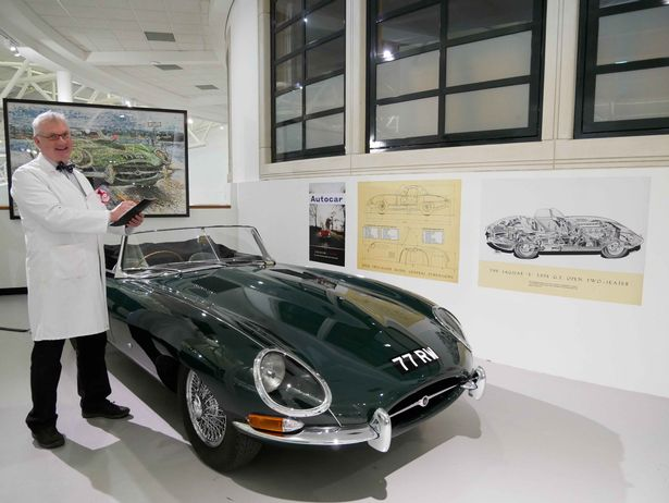 May half-term events at the British Motor Museum will have a Jaguar E-Type flavour
