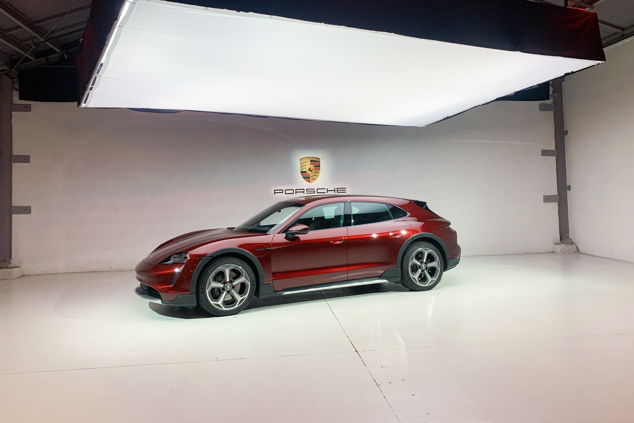 relates to With World's First Electric Station Wagon, Porsche Delivers on Utility