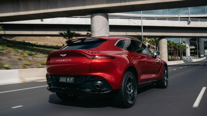 2021 Aston Martin DBX ride and handling review