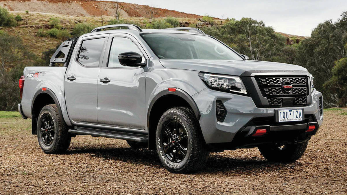 The Sleuth expects the new Nissan Navara, pictured, to arrive in North America as the next Frontier midsize pickup. PHOTO: NISSAN