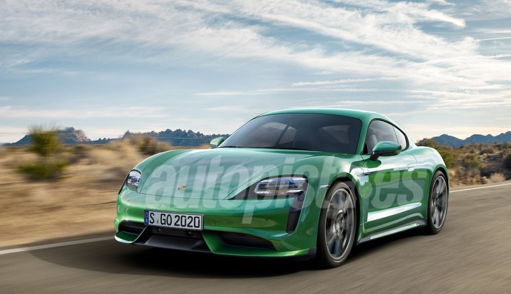 This will be the Porsche e-Cayman.  Illustration: Schulte.