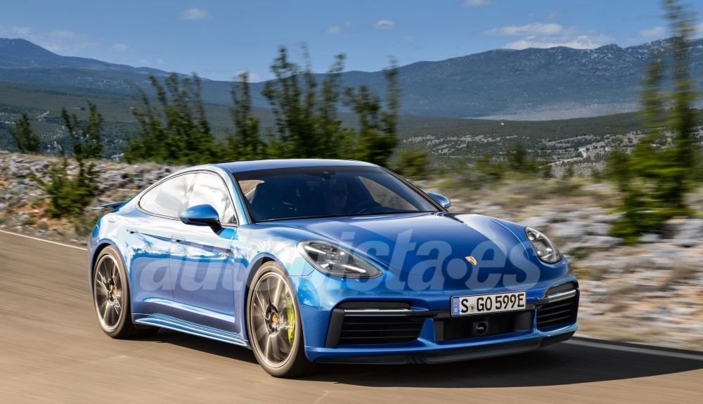 This will be the future generation of the Porsche Panamera.  Illustration: Schulte.
