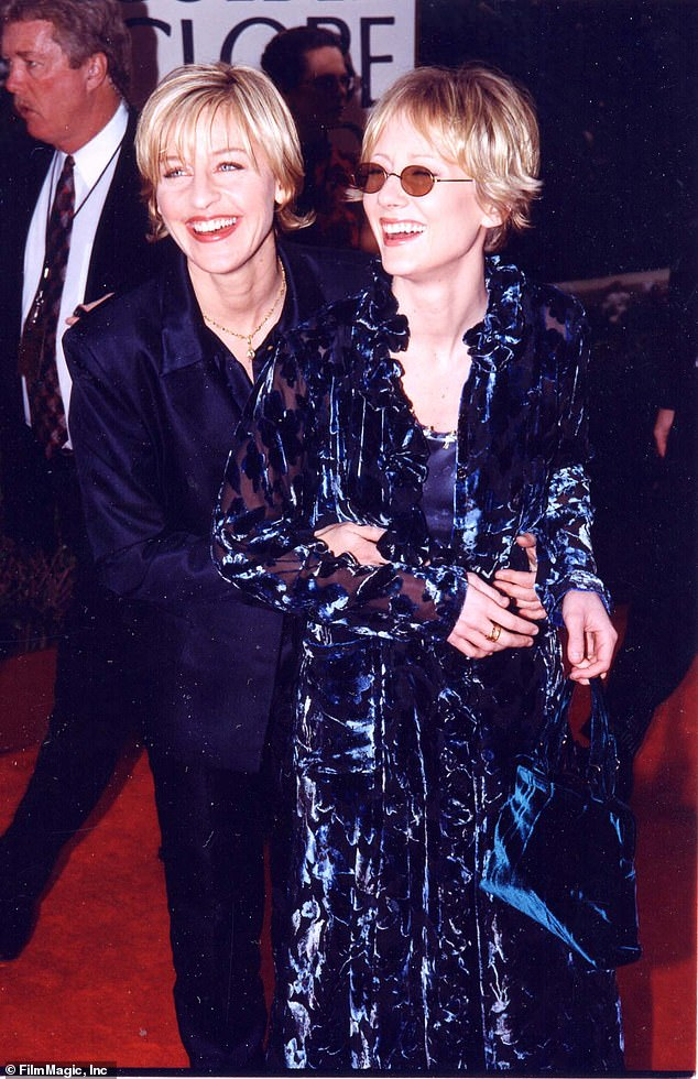 Former flame: The TV and film star dated the host, 63, from 1997 until 2000