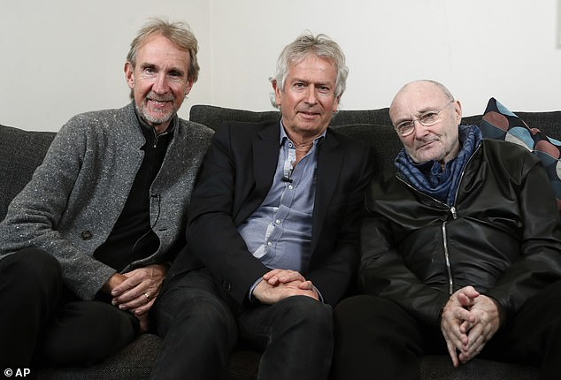 Not that Genesis: The rock band with the same name is also making a comeback in 2021. Mike Rutherford, Tony Banks, and Phil Collins (left to right) are set to embark on a reunion tour this year, including their first to the USA in 14 years
