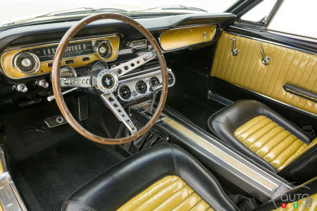 The 1965 Ford Mustang, interior