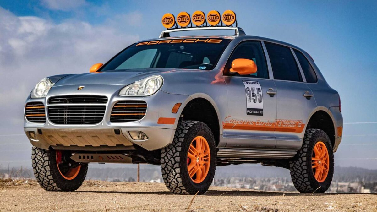 Porsche has scored quite a few victories with the Cayenne model, including even the gold of the 2007-2008 Transsyberia Rally spanning over 4,500 miles (7,242+ km) between Moscow and Ulan-Bator. This vehicle was built to celebrate that achievement, and it is now heading to auction.
