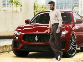 David Beckham is the new face of Maserati