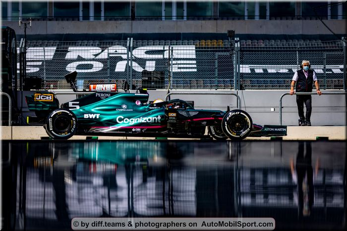 Aston Martin Cognizant F1 Portugal Grand Prix qualifying review and quotes