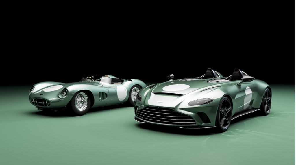 Aston Martin V12 Speedster in DBR1 specification