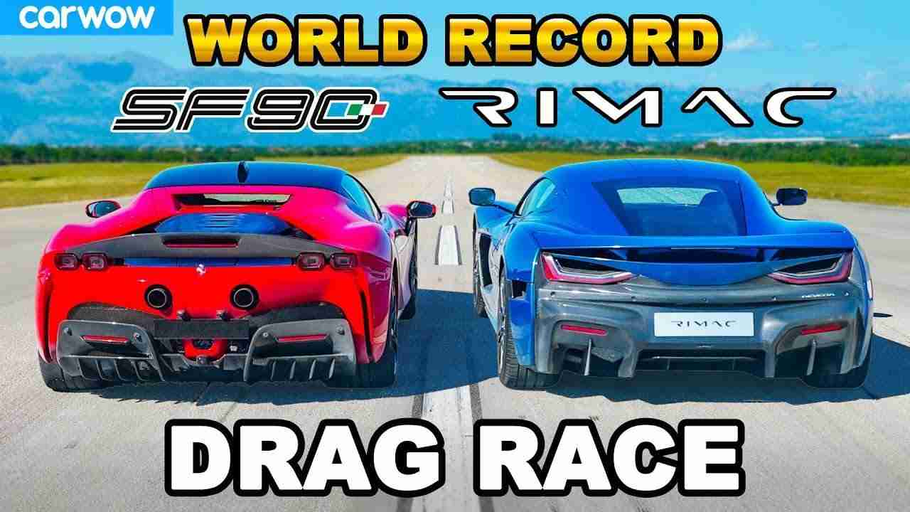 Hardly had Rimac unveiled its Nevera hypercar when a video went viral showing the electric track weapon annihilating a Ferrari SF90 Stradale at a quarter-mile acceleration race.