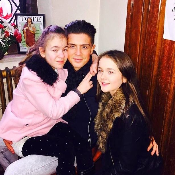 Jack and his sisters Holly and Kiera