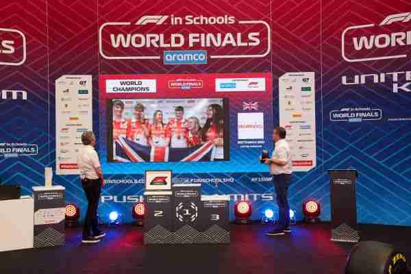 UK Team crowned Aramco F1® in Schools World Champions 2020(21)
