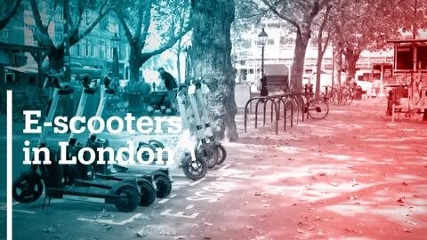 London launches e-scooters to reduce pollution