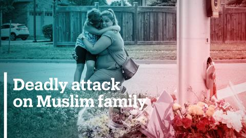 Muslim family of four killed in suspected hate crime