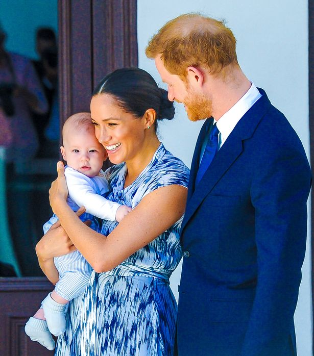 Both mother and child are healthy and well, Meghan's press secretary said.