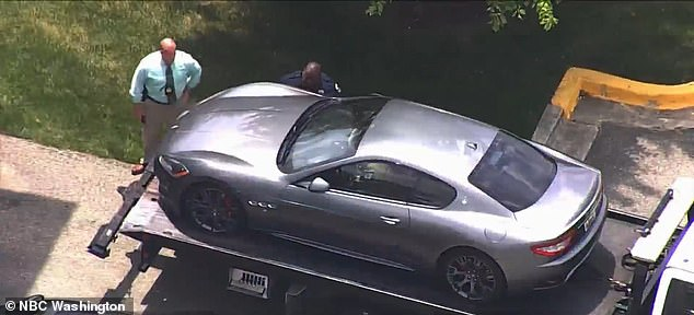 Police seized his Maserati on Wednesday and identified it as an archer's car