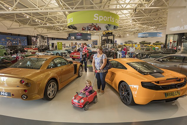 The British motor museumhouses the world's largest collection of historic British cars, with more than 300 classic motors from the collections of the British Motor Industry Heritage Trust