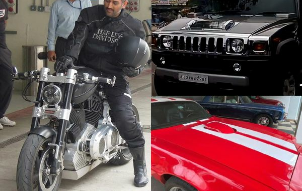 Dhoni most expensive things