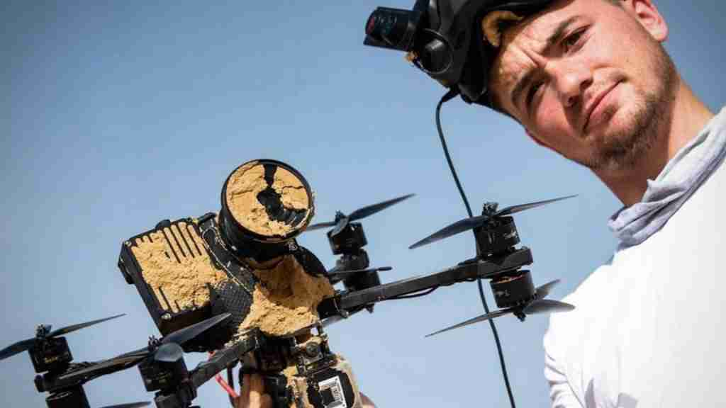 Johnny Schaer, his FPV drone and the Freefly Wave high-speed camera