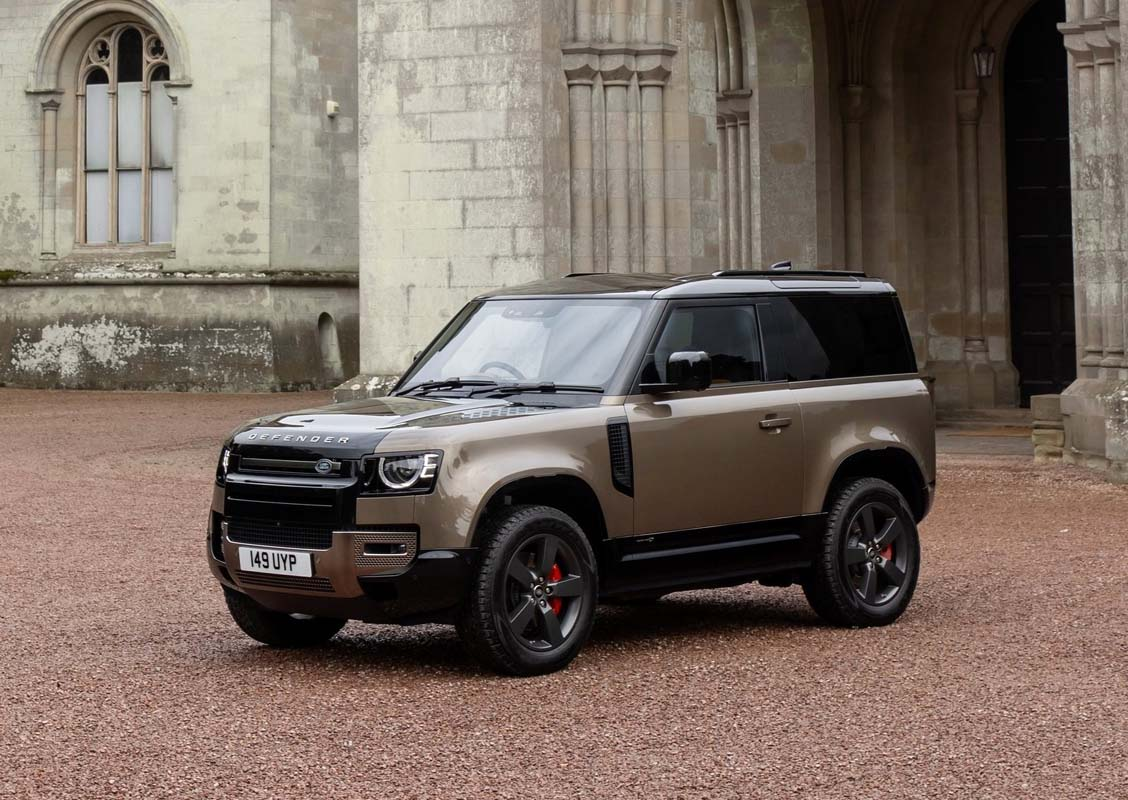 Defender wins World Car Design of the year