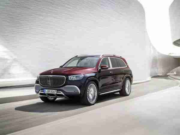 Mercedes-Maybach GLS 600 India launch scheduled for 8 June