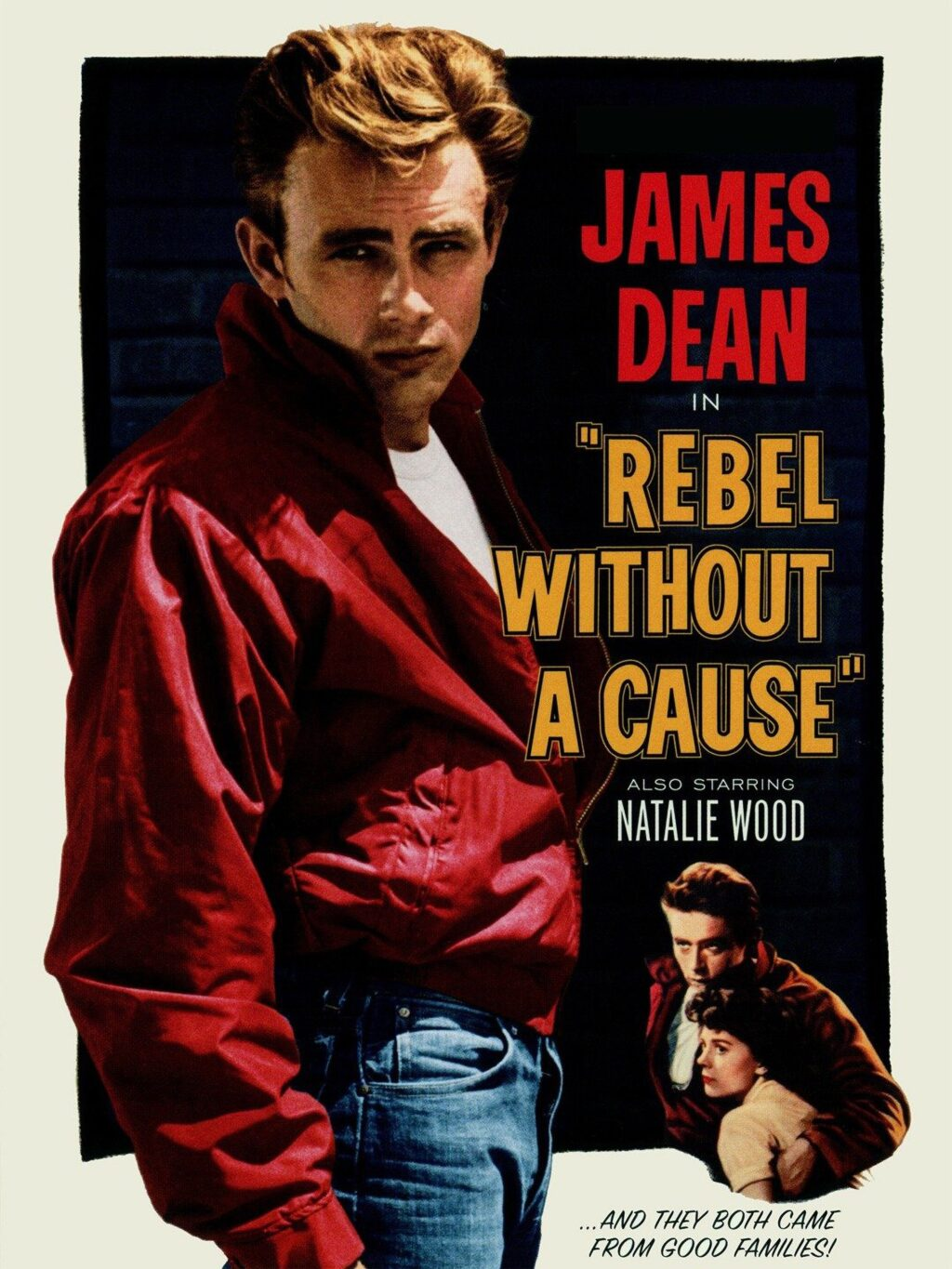 """Rebel without a cause poster 1024x1365 - Zak Bagans Buys James Dean's """"Cursed"""" Porsche Transaxle for Haunted Museum"""