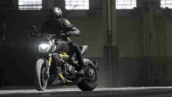ducati launches new black and steel colorway for diavel 1260