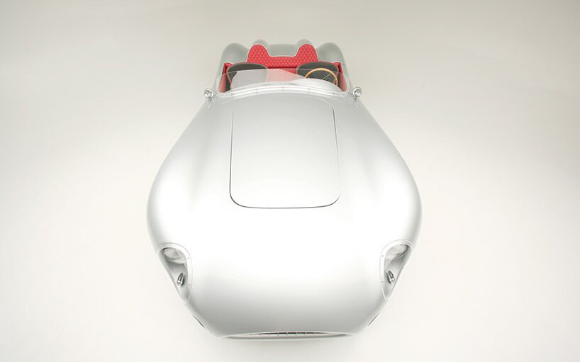 iconic 1957 aston martin DBR2 gets futuristic remake with lightweight carbon fiber body by rizk auto