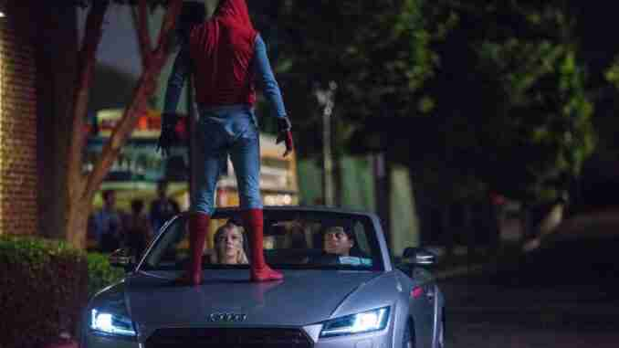 spider man homecoming audi a8 2018