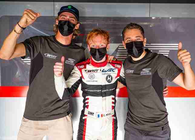 Milesi claims first-ever WEC pole for Team WRT