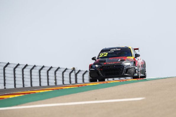 First success of the new Audi RS 3 LMS in Spain